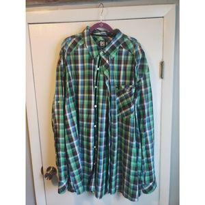 Big Men's Button Up Shirt